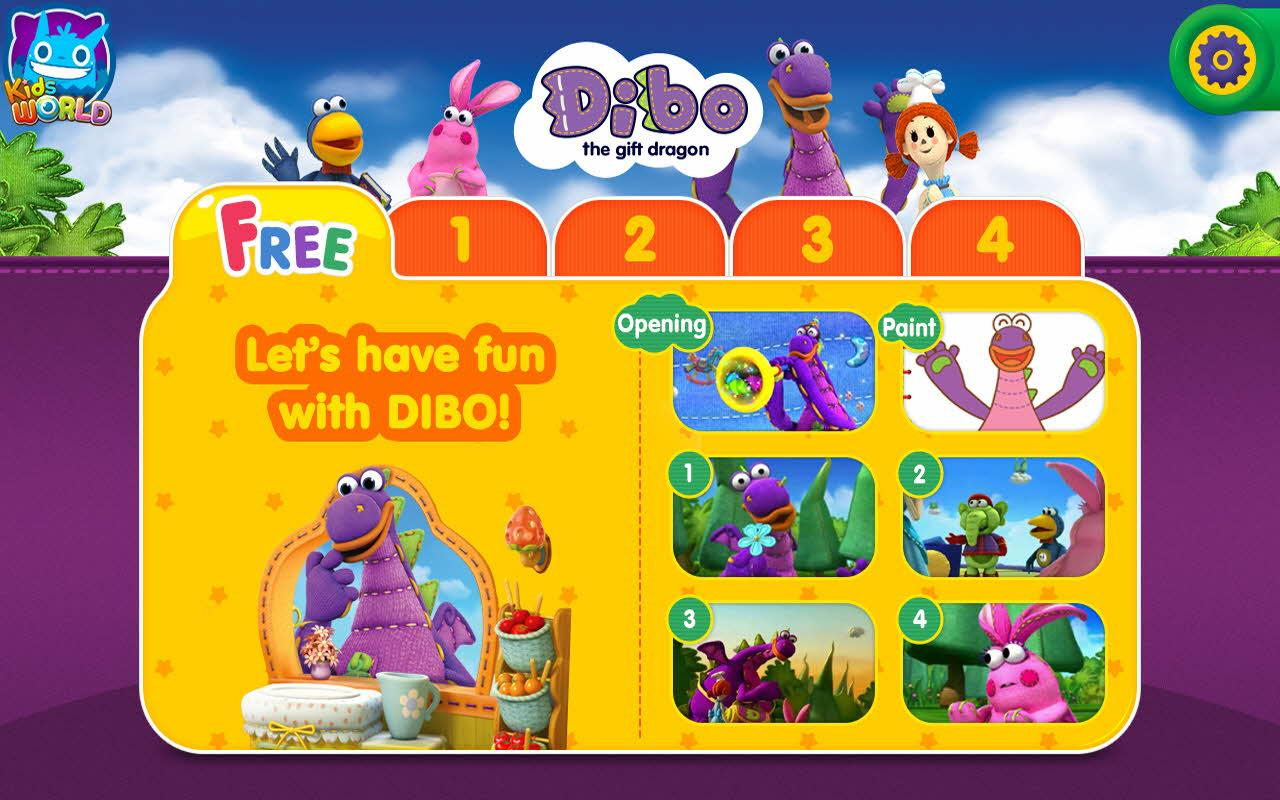 Dibo the Gift Dragon 1.8 APK Download - Android Education Apps