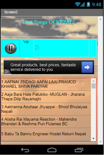Best Songs Of Nepali 1 0 Apk Download Android Music Audio Apps