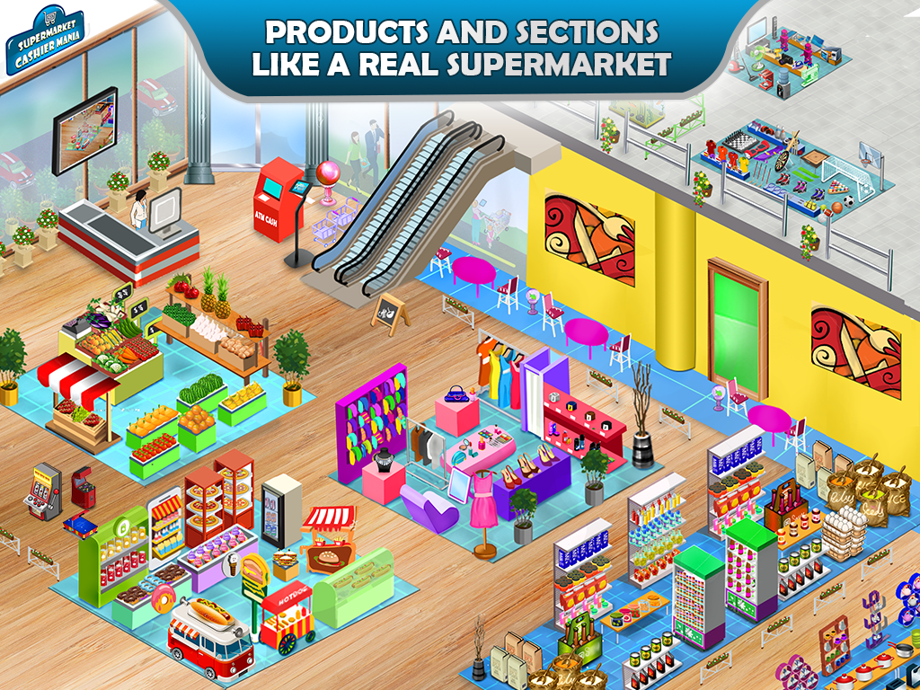 Supermarket Cashier Mania 1 4 APK Download Android