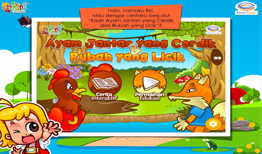Cerita Anak Ayam Cerdik Dan Rubah Licik Screenshot Download Lengkap
