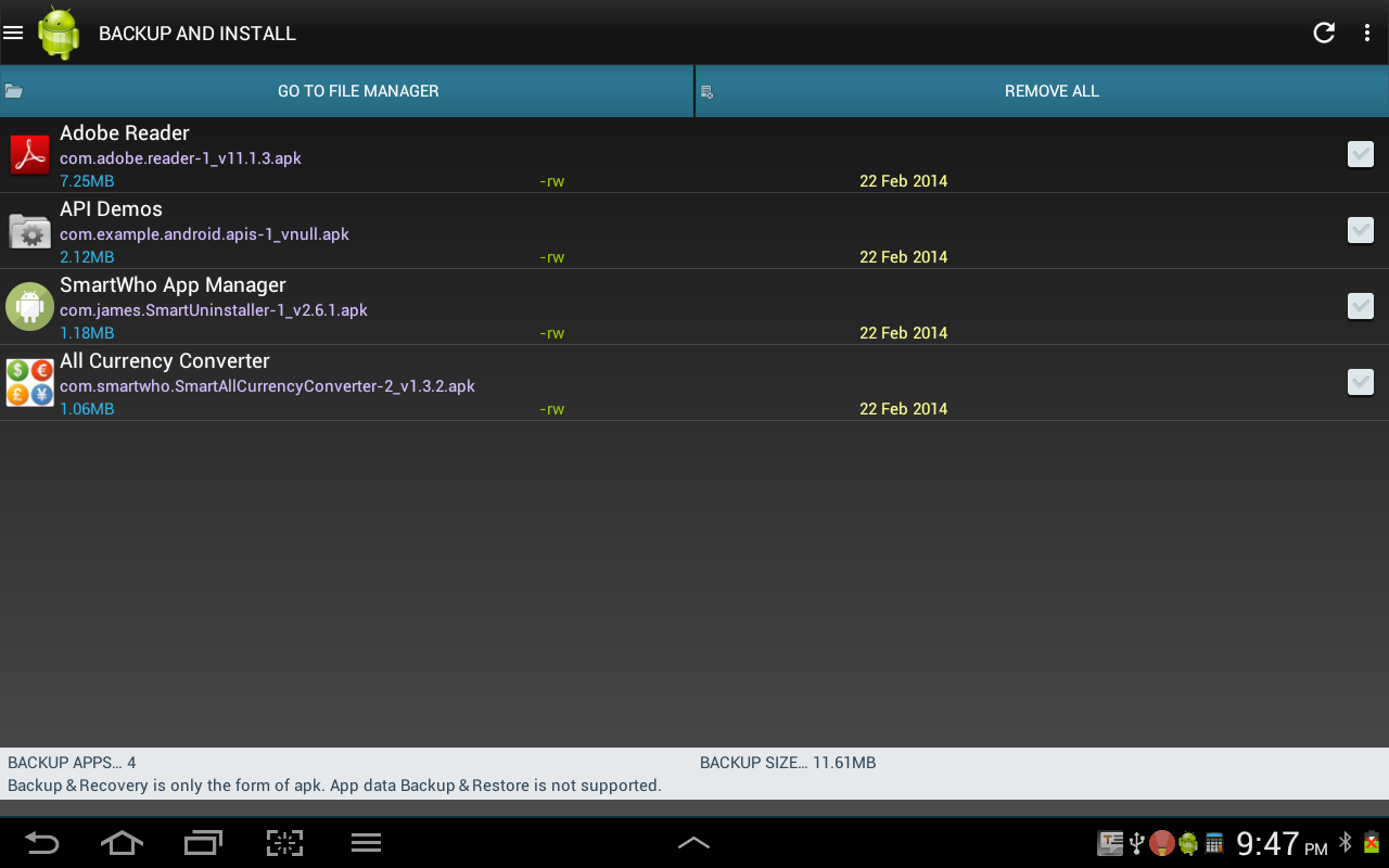 App manager android download