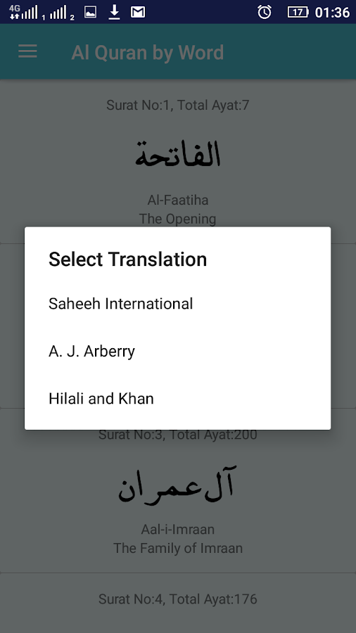 Quran word by word english translation pdf download