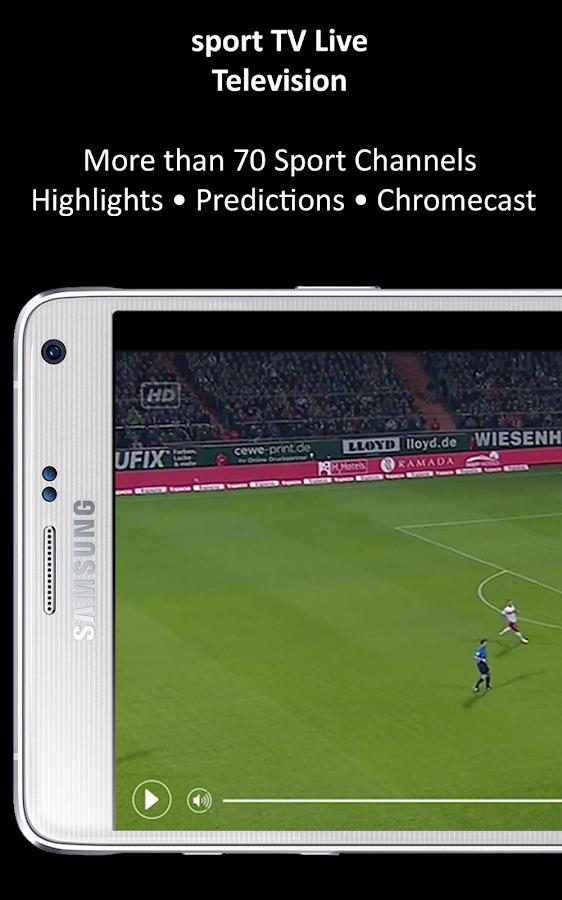 sport tv live - television 2 2 3 apk download