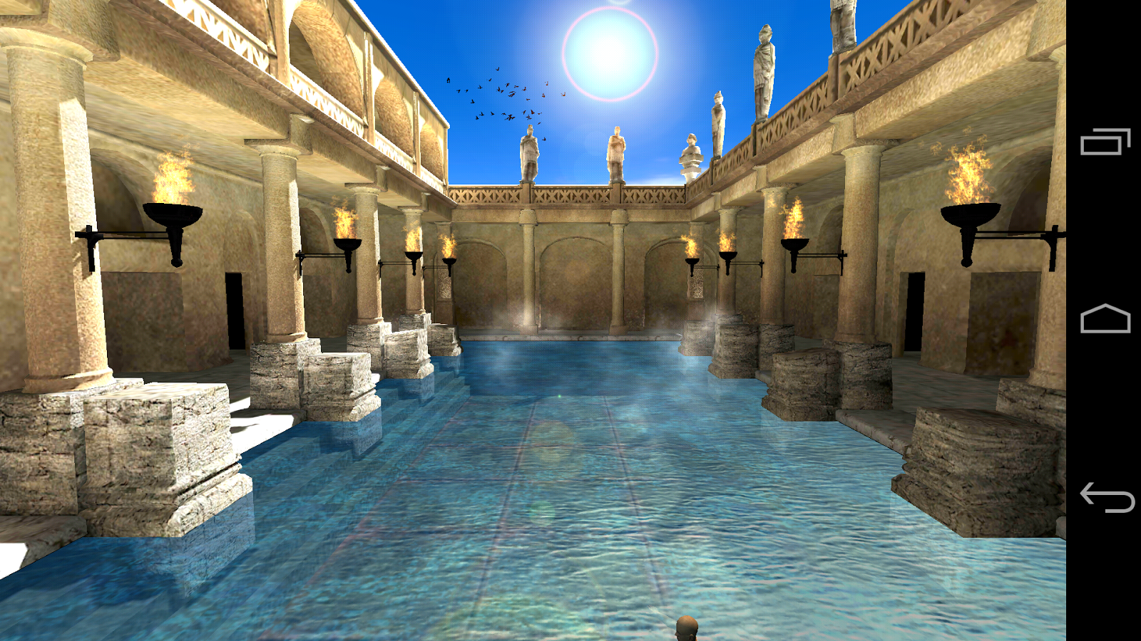 Bathroom specialists product gallery baths downloader -  Roman Bath 3d Live Wallpaper 1 0 0 Screenshot 9