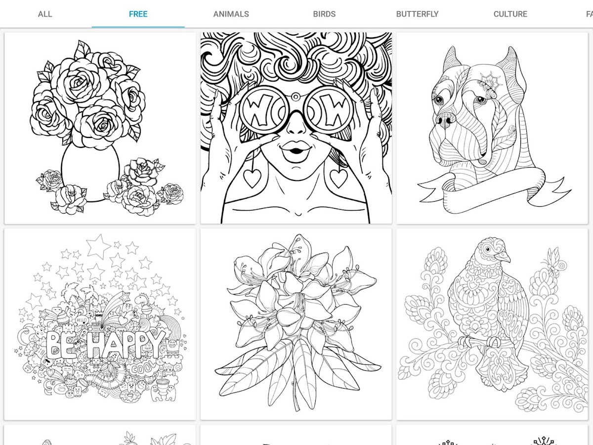 Incolor coloring books 2018 2 5 1 apk download android Coloring book 2018 apk