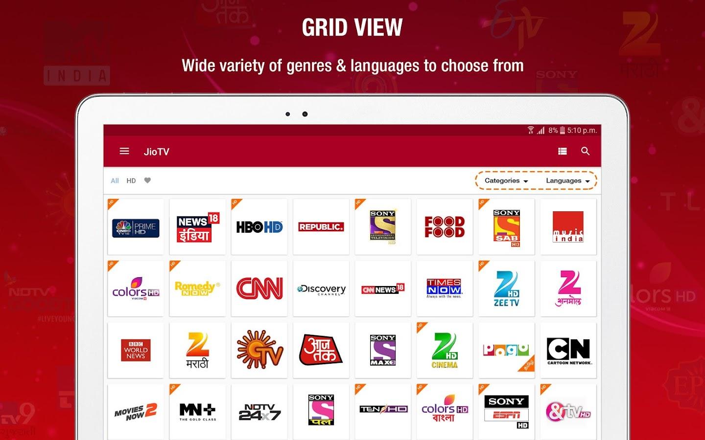 JioTV Live Sports Movies Shows 5.2.1 APK Download ...
