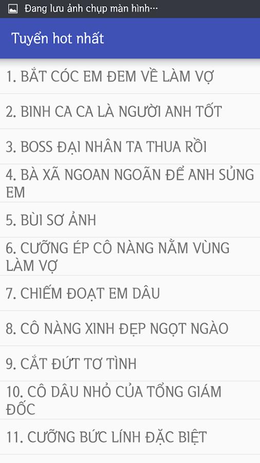 Top 100 Tiểu Thuyết Ngôn Tình Offline Full 2018 1 0 APK