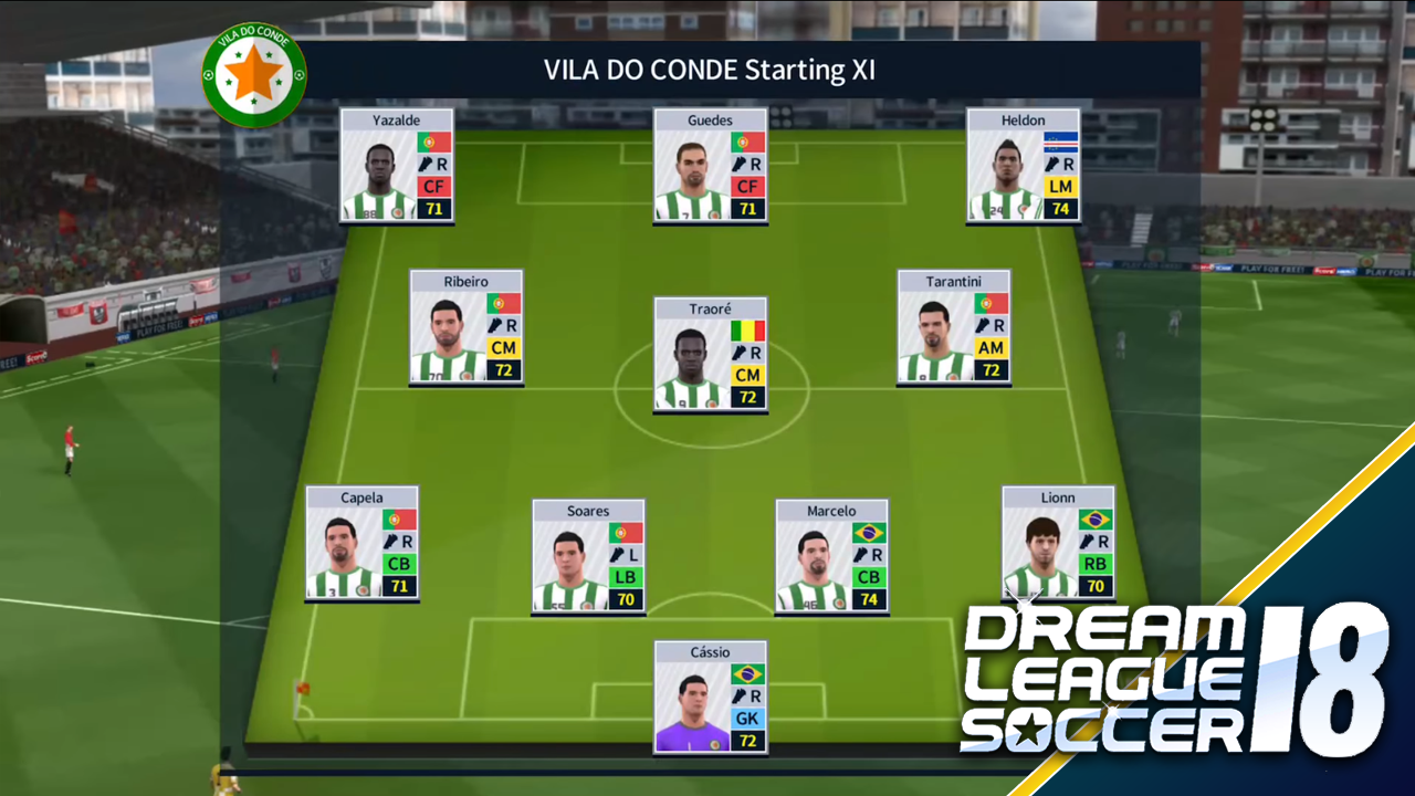 dream league soccer best formation