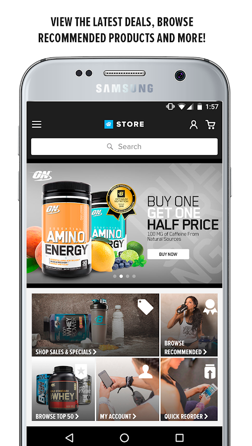 May 27, · The truezloadmw.ga Store app is the fastest way to shop for your favorite vitamins, supplements, and sports nutrition products. Use Wish List or Quick Reorder to get in, get out, and get back to your workout!/5(K).