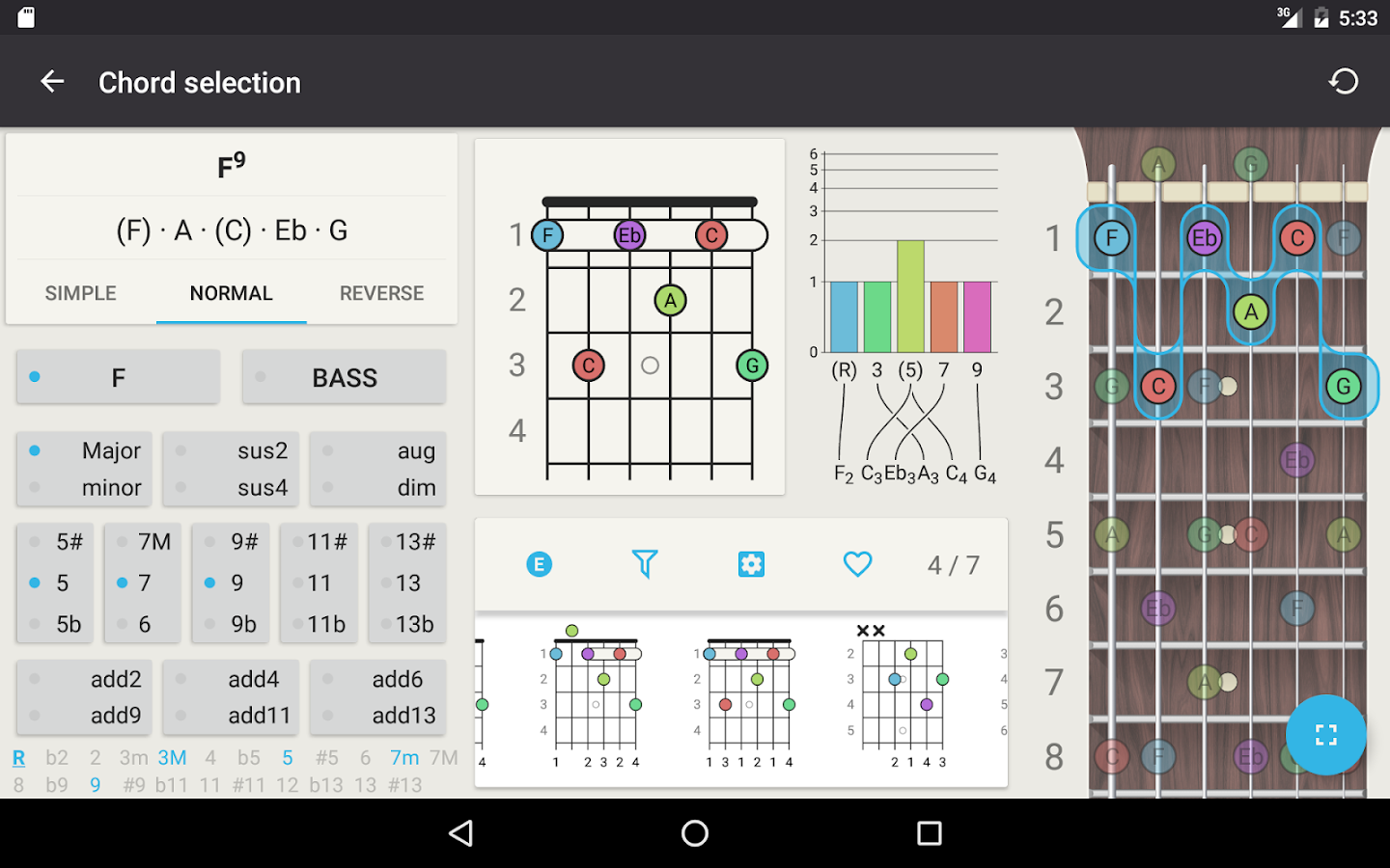 Chord guitar chord finder 42 apk download android music guitar chord finder 42 screenshot 14 hexwebz Image collections