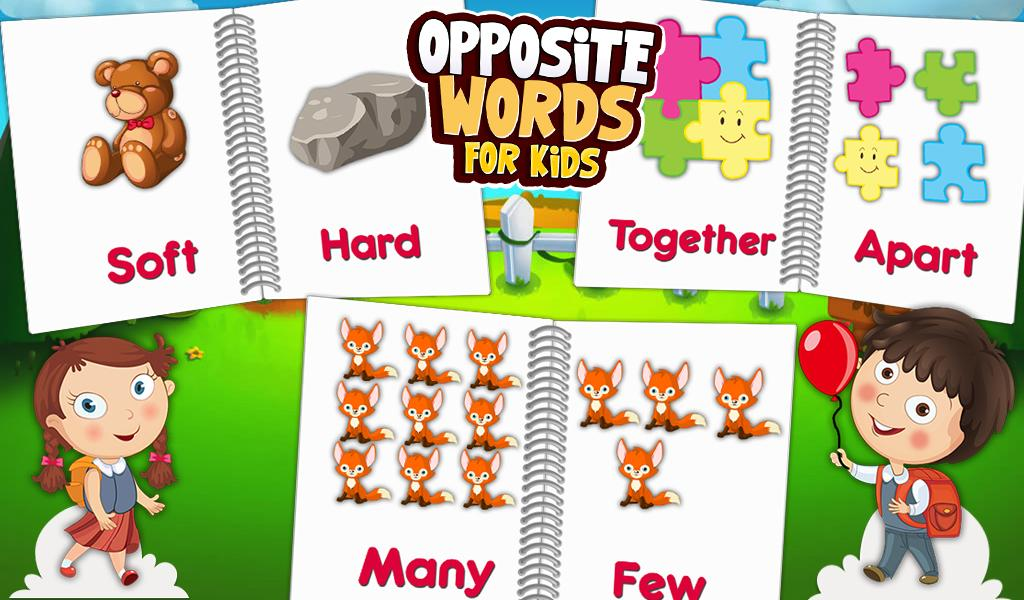Opposite Words For Kids 1.0.2 APK Download - Android Educational Games