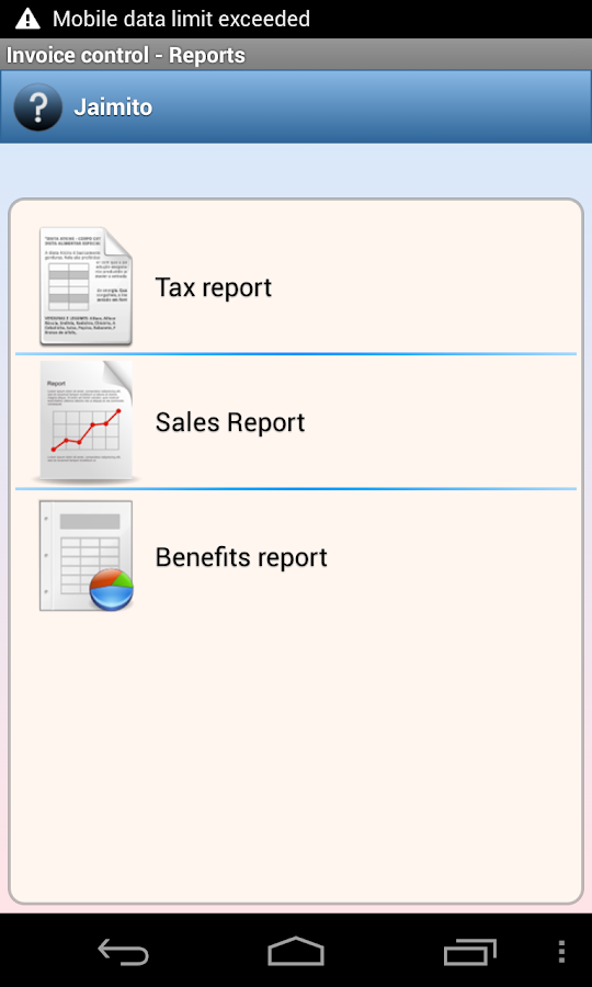 Invoicing System Software Pdf Invoice Control  Apk Download  Android Finance Apps Asda Price Receipt with Xls Invoice Template Excel  Invoice Control  Screenshot   Example Of Cash Receipt