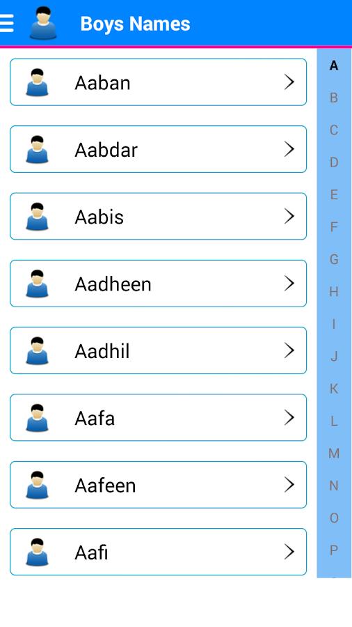 Islamic Baby Names Meaning 13 Screenshot 1