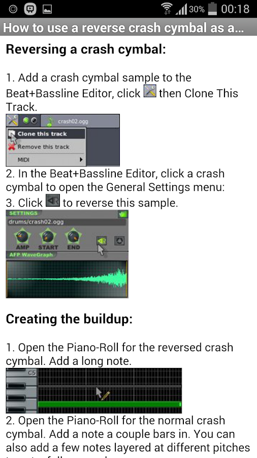 LMMS Tutorials 1.2 APK Download - Android Productivity Apps
