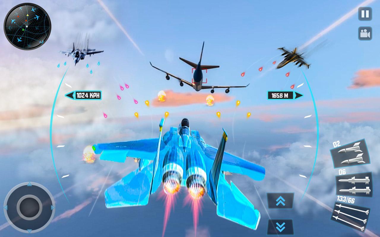 Jet Fighter Plane 3D – Air Sky Fighter Sim 2017 1 1 APK