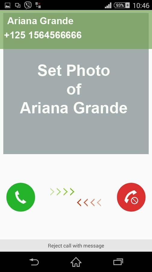 Molto Call Prank Ariana Grande 1.0 APK Download - Android Entertainment Apps XN21