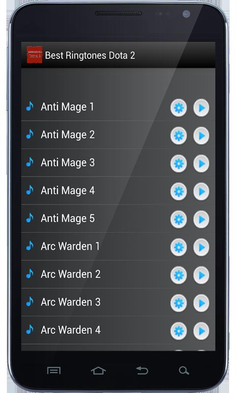best ringtones dota2 1 0 apk download android music audio apps