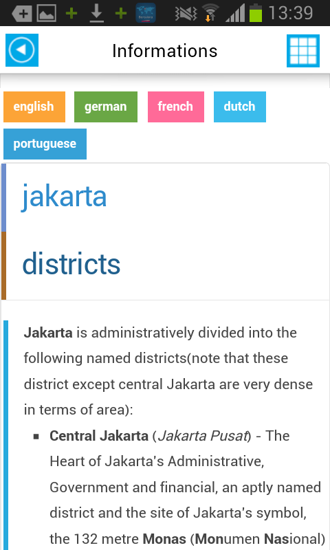 Jakarta Offline Map  Guide 50 APK Download  Android Travel