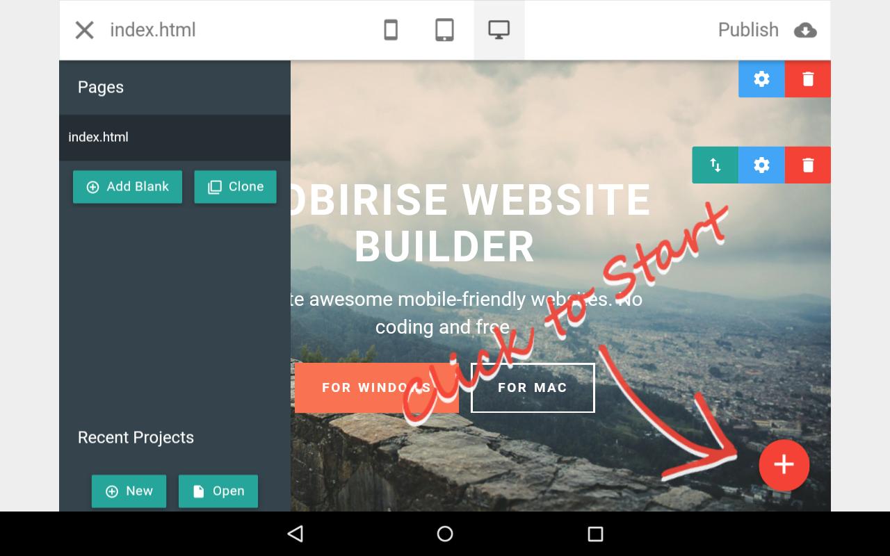 Mobirise Website Builder Version History | Autos Post