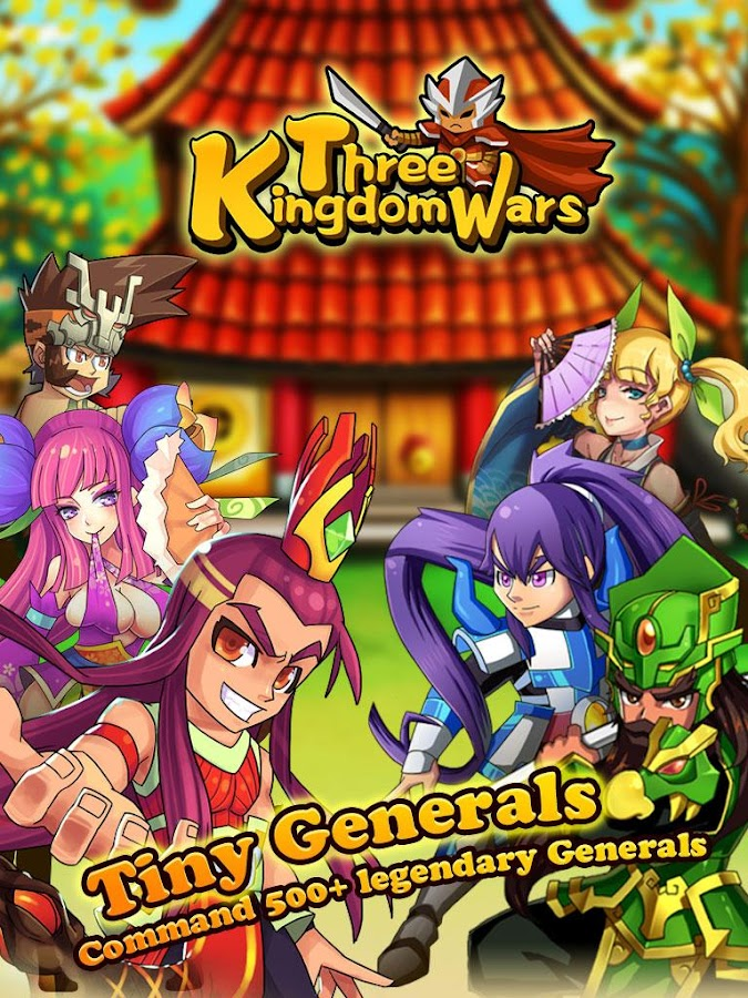 Three Kingdom Wars 1.0.1.5 APK + OBB (Data File) Download ...