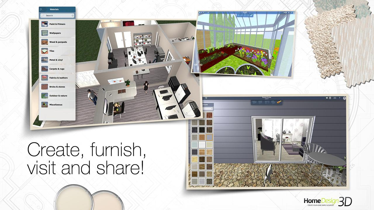 Home Design 3D 3.1.5 APK Download - Android Lifestyle Apps
