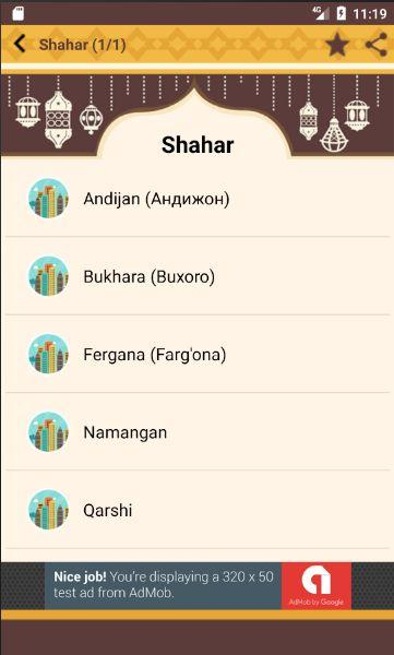 Namoz Vaqti (Azon) 264 APK Download - Android Books ...