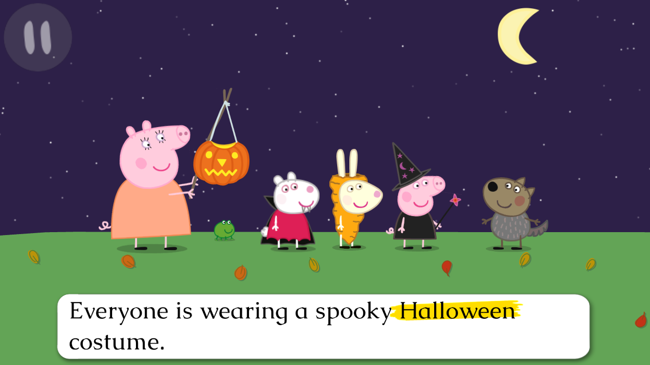 peppa pig book pumpkin party 1 6 apk download android books