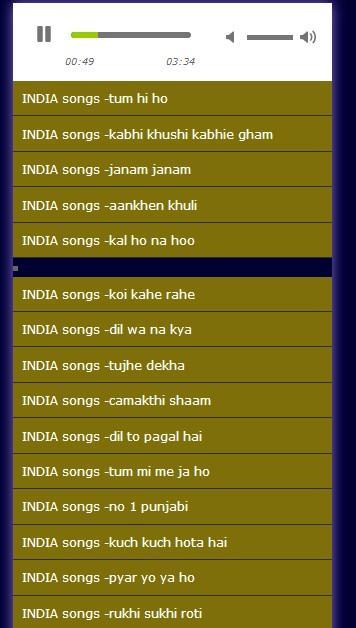lagu india lengkap 1 0 APK Download - Android Music & Audio Apps