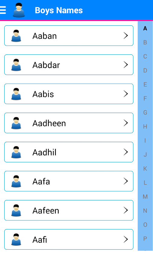 Urdu Islamic Baby Muslim Names 15 Screenshot 4