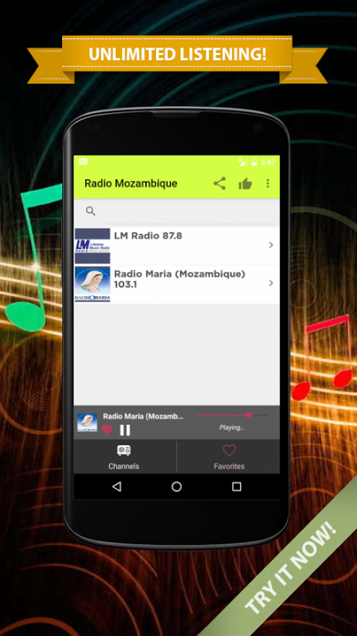 Radios Mozambique on Internet 2 0 0 APK Download - Android Music