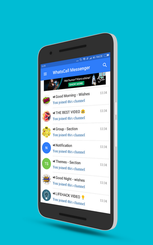 WhatsCall : Chat, Free Call, Stickers - Messenger 2 5 1 APK