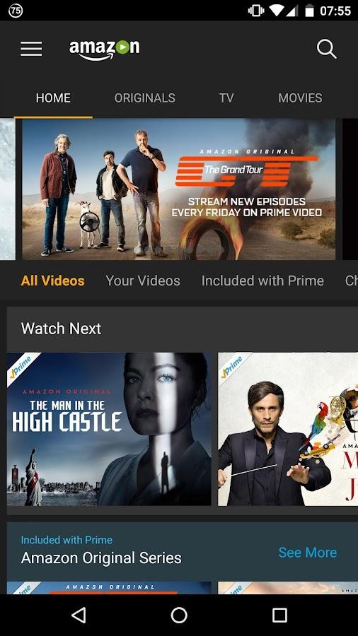 Amazon Prime Video App