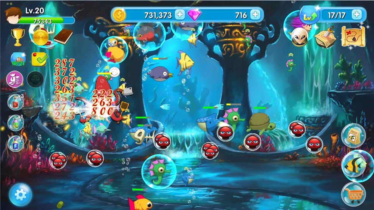 Adventure aquarium 1 5 8 apk download android casual games for Fish aquarium games