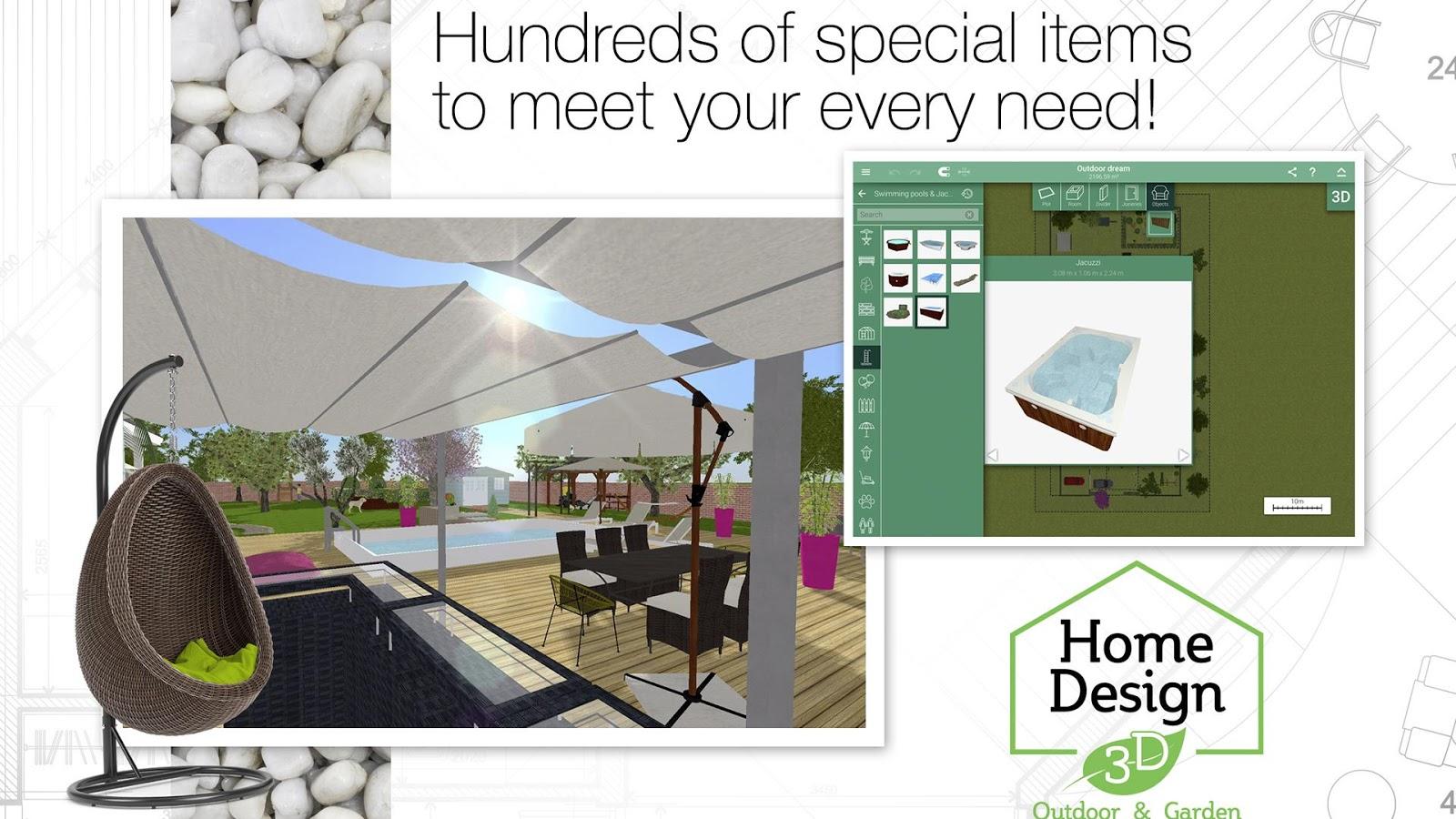 Home design 3d outdoor garden 4 0 8 apk obb data file for Home design 3d outdoor garden mod