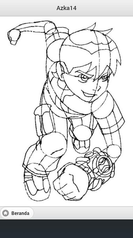 coloring page ben 10 cartoons 87 printable coloring pages. ben ...