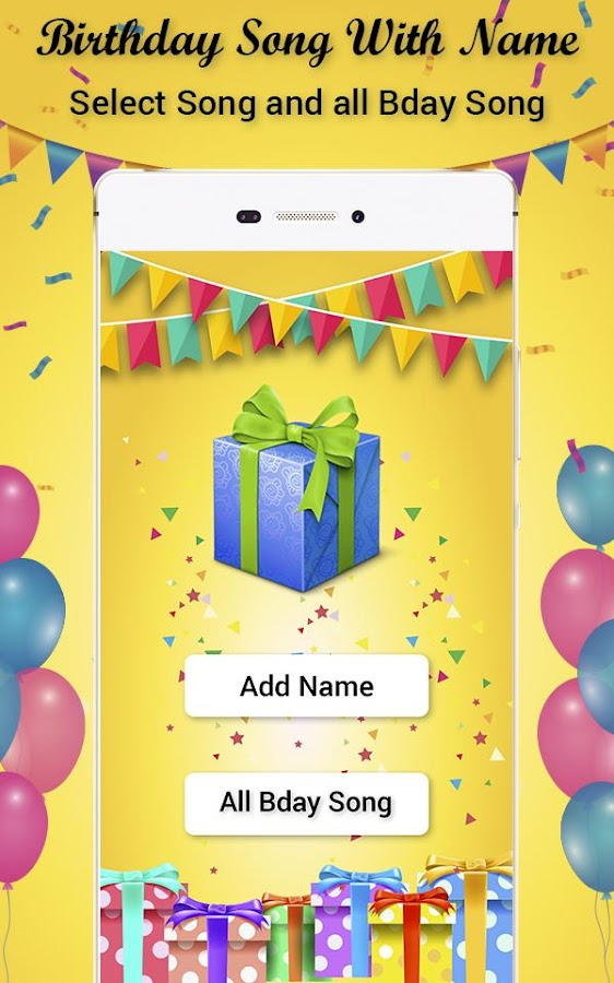 Birthday Song with Name 1 0 APK Download - Android Music & Audio Apps