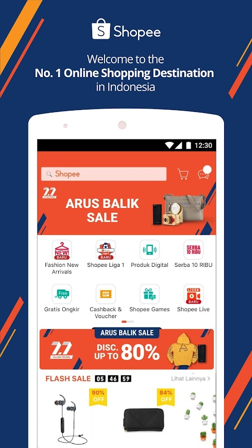 5debc205f com.shopee.id 2.40.30 APK Download - Android Shopping التطبيقات
