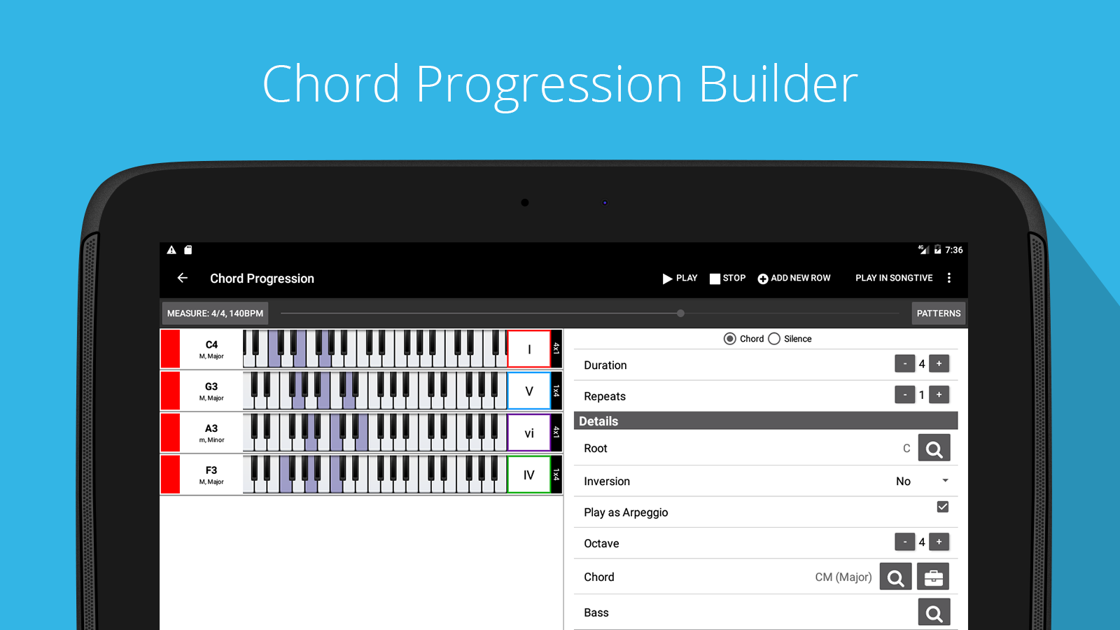 Piano chord scale progression companion 617102 apk download piano chord scale progression companion 617102 screenshot 13 hexwebz Images