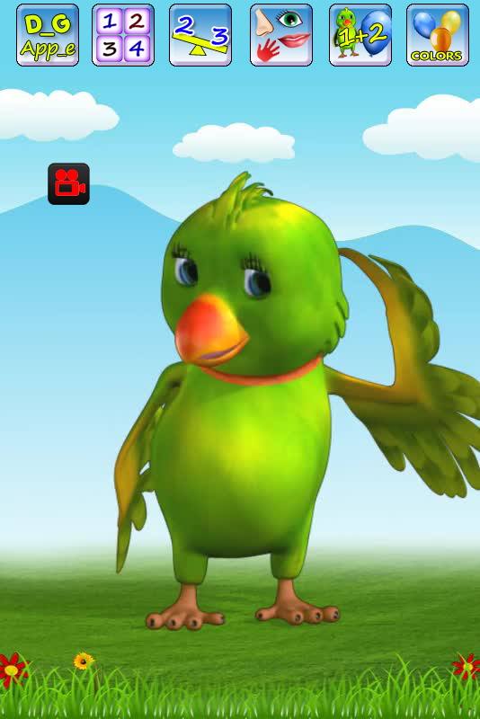 Talking Parrot - Perry 1.0.7 APK Download - Android Education Games