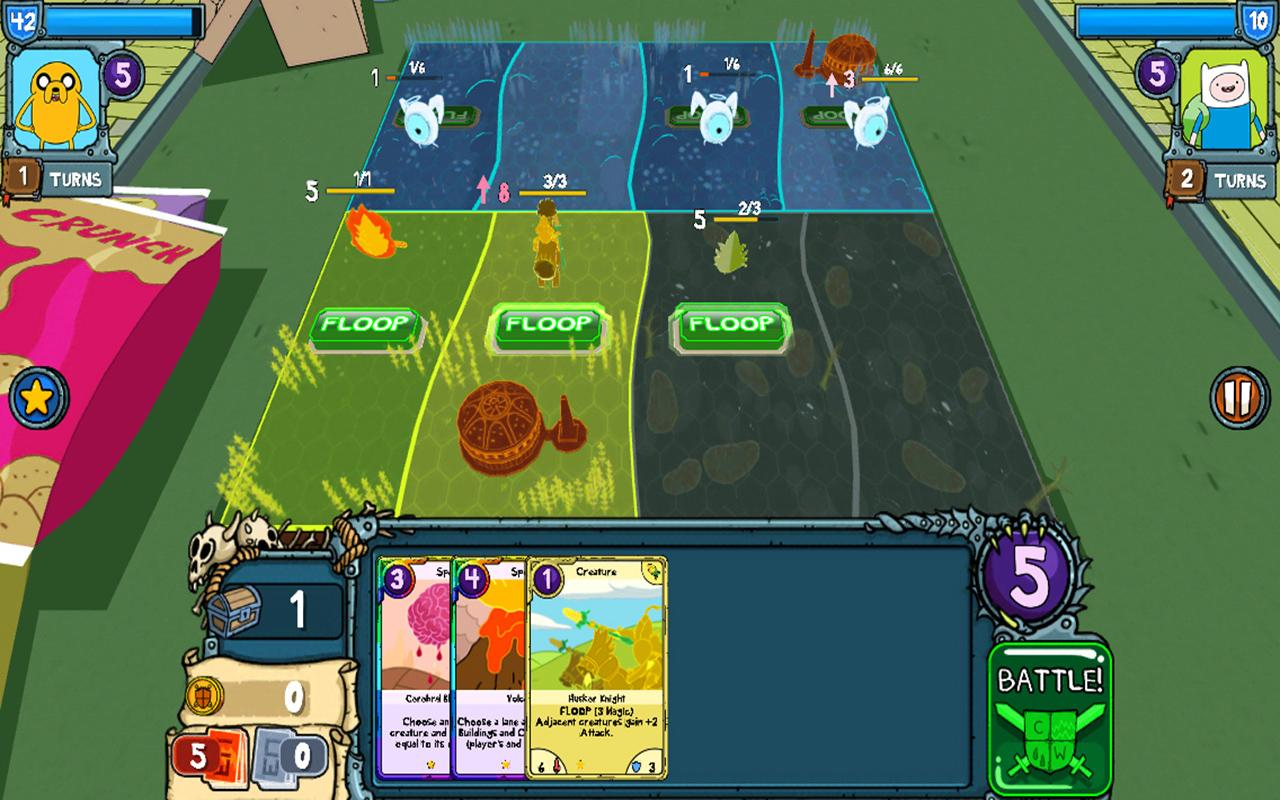 Adventure Time Card Wars APK + OBB + Mod 1.11.0