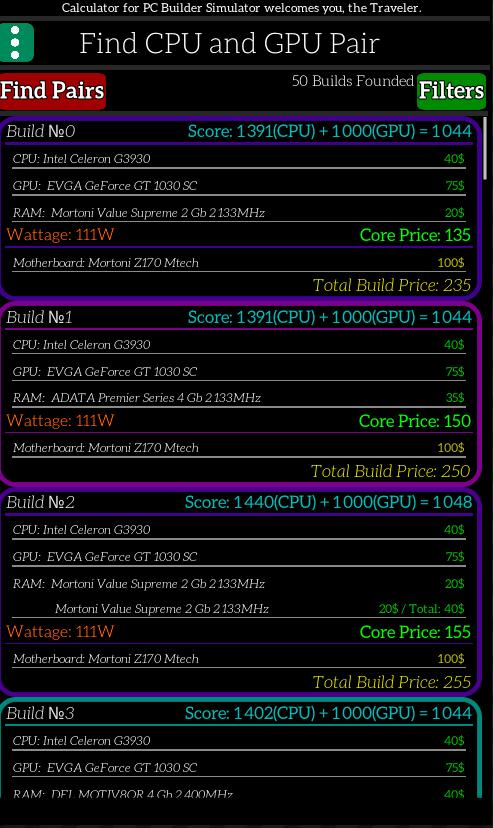 PC Building Simulator Calculator 1 8 11 APK Download