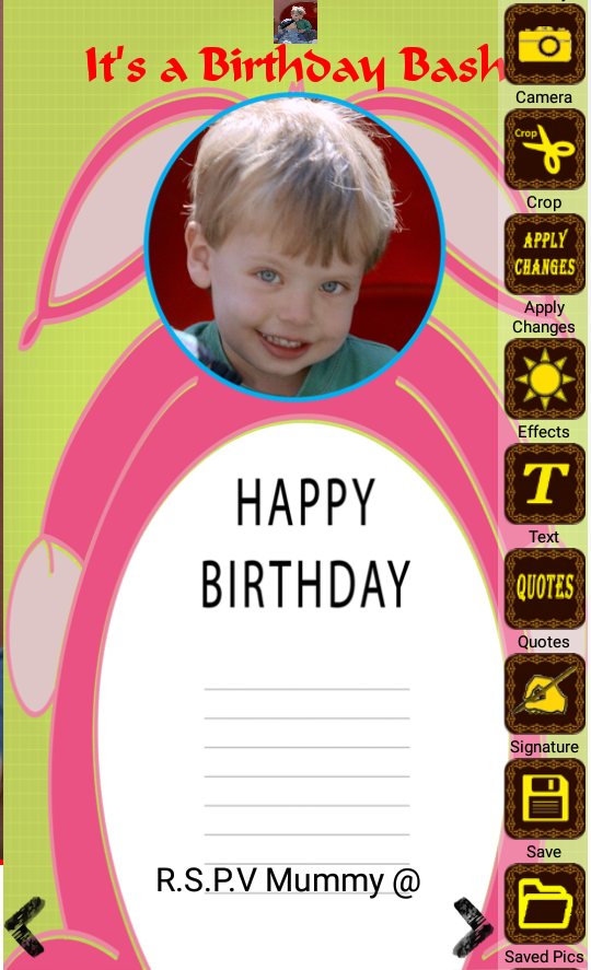 Birthday invitation with photo 10009 apk download android birthday invitation with photo 10009 screenshot 1 stopboris Gallery