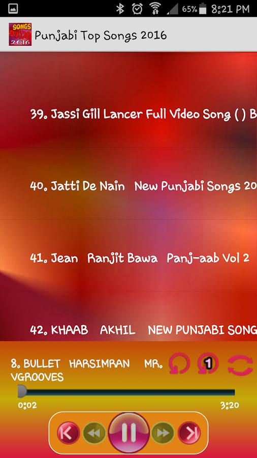 Punjabi Songs 2016 Super Hits 4 3 APK Download - Android