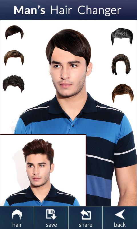 Hair Style App Man's Hair Changer  Hairstyle 1.1 Apk Download  Android .