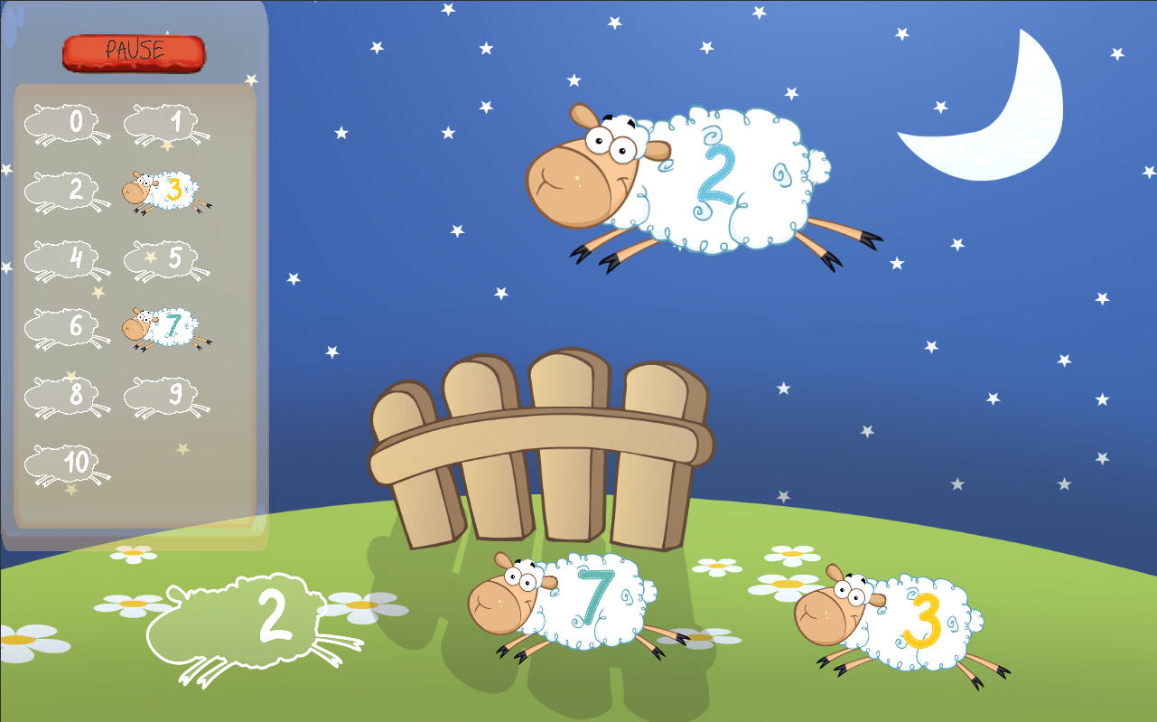 Count Your Sheep 1 0 APK Download Android Educational Games