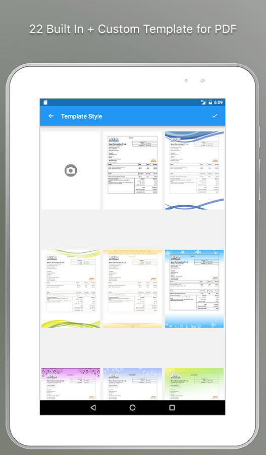 Easy invoice free download