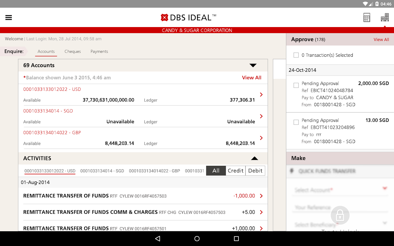 Dbs Ideal Mobile Screenshot 7