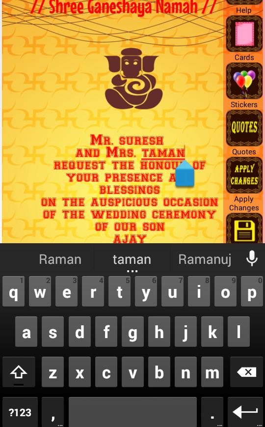 Hindu wedding invitation cards 10009 apk download android hindu wedding invitation cards 10009 screenshot 2 stopboris Images