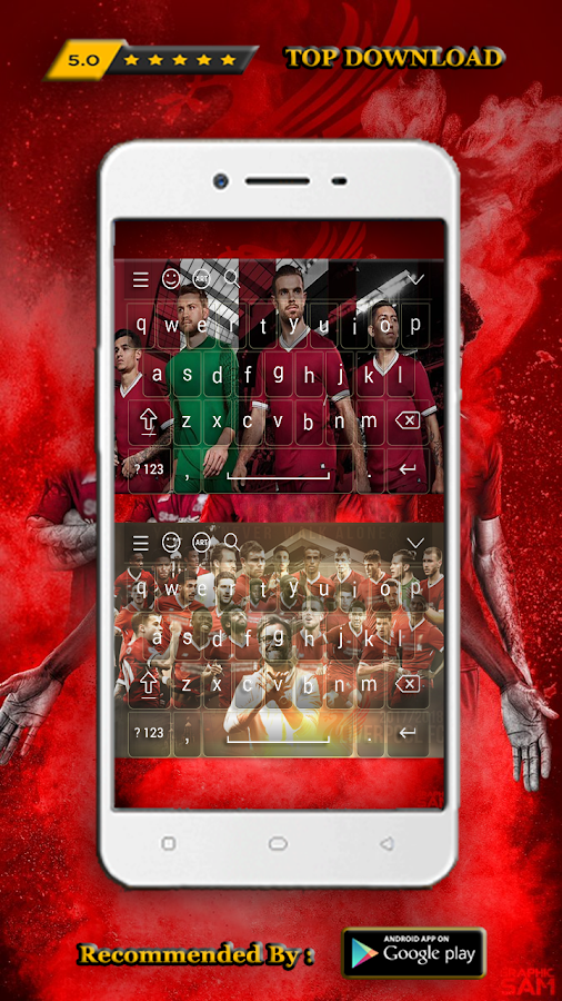 New Keyboard for Liverpool Theme Football 2019 2 0 APK Download
