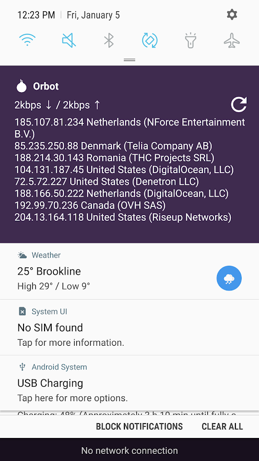 Orbot proxy with tor apk download